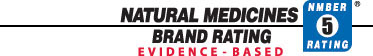Natural Medicines Brand Evidence-based Rating (NMBER)