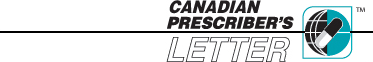 Canadian Prescriber's Letter